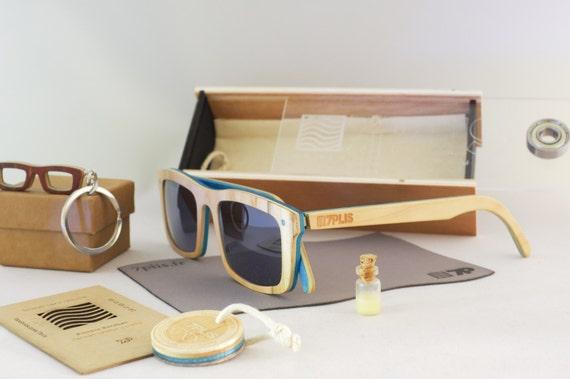 skateboard recycled sunglasses