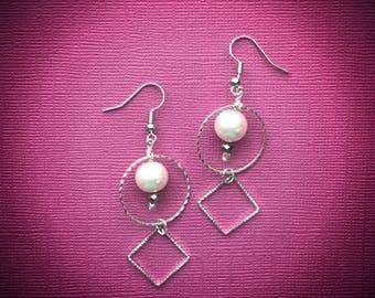 Pink Pearl & Hoops
