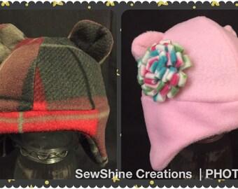 Infant Fleece Earflap Hat