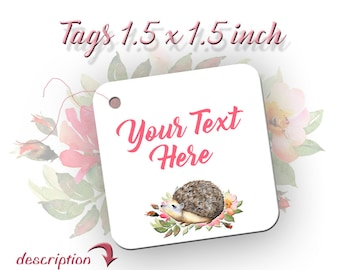 Tags | Labels | HedgeHog Custom Tags | Clothing Tags | Jewelry Tags |Product Tags | Product Tags | Hedgehog Tags
