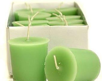 Lemongrass & Sage 15 Hour Soy Votive Candles Pick A Pack