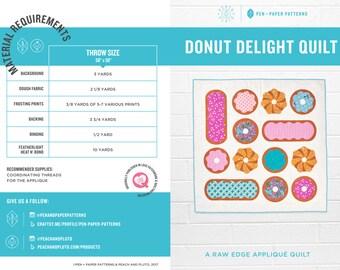 PDF Donut Delight Quilt Pattern