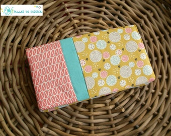 """checkbook wallet """"an air of spring"""""""