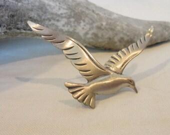 Vintage Beau Sterling Bird Pin