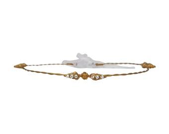 Tiny Dancer Gold Seashell Crown