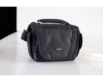 CASE BAG  black Film Strap Instant Film Camera Bag 35mm analog purse Vintage Case Display Protective TheHeartTheHome 32