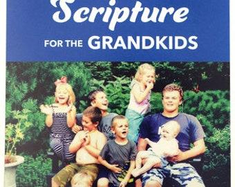 Iron on Scripture for Grandkids, Applique 3 pack