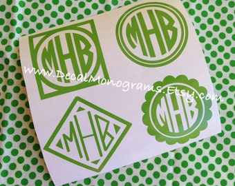 Fun Sample Pack #2 Monogram Decals