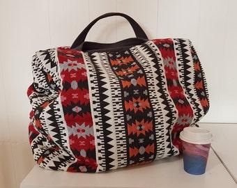 Carpet Bag - carry on bag