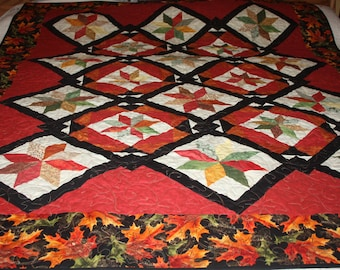 Fall Splendor Twin/Lap quilt