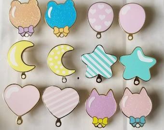 Balloon Enamel Pins