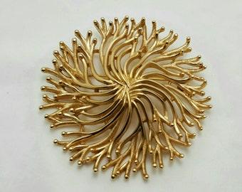 TRIFARI Brushed Gold Pin