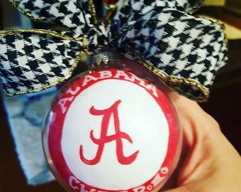 Alabama Roll Tide Ornament