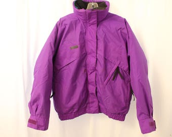 "Vintage 90s Columbia ""Whirlibird"" Ski Coat w/ Puffy Liner - Women's S"