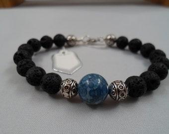 "Fossil bead bracelet 8"""