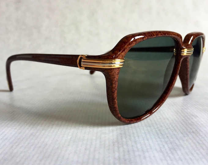 Cartier Vitesse Vintage Sunglasses - Full Set including 2 Cases - New Unworn Deadstock