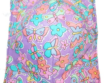 Keep your fingers either warn or cool with my Bowl Cozy  Pastel Butterflies !!