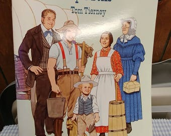 American Pioneer Family Paper Dolls Dover Publications