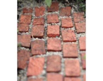 miniature bricks, 20 fairy garden bricks, dollhouse bricks, miniature pathway, tiny bricks, dollhouse bricks, mini bricks, micro bricks