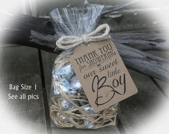 Boy baby shower favors etsy boy baby shower favor baby shower favors diy bagsfavor tag w negle Choice Image