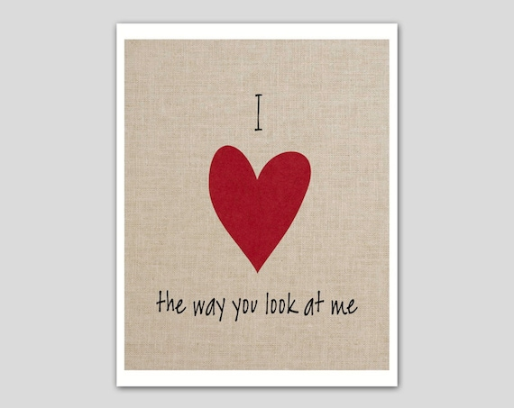 I Love The Way You Look At Me 32976 Usbdata