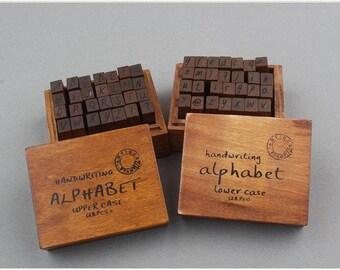 Alphabet Stamp Etsy