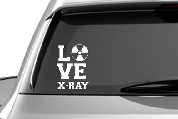 X Ray Car Decals
