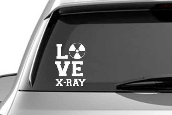 Love xray decal