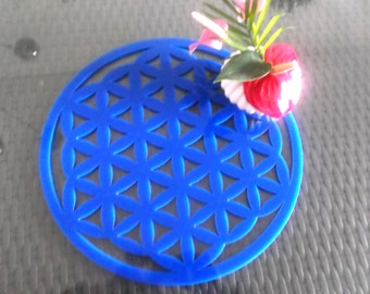 Flower of life, acrylic glass (1190)