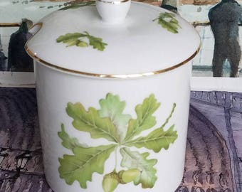 """The National Trust for """"Oakley Fine China"""" Marmalade Jar!Made in England!"""