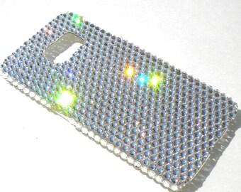 For New Samsung Galaxy Note 8 - Clear Crystal Diamond Rhinestone BLING Back Case handmade with Swarovski Crystals