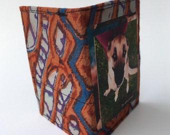 Bifold wallet, dog wallet, slim wallet, thin wallet, skinny wallet, small bifold wallets