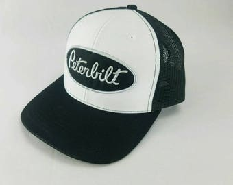 Peterbilt logo hat, peterbilt, peterbilt hat, peterbilt gifts, peterbilt trucker hat, peterbilt logo, embroidered hat, Semi truck, ford, cap