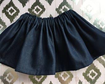 Baby Skirt / Girl Skirt / Toddler Skirt / Girl clothes / Baby Girl skirt / Baby Girl Outfit /  Girl Outfit / Denim skirt