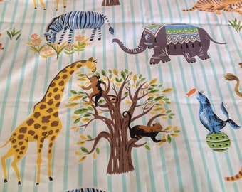 Michael Miller Escapees - Circus Fabric - Kids Fabric - Baby Fabric
