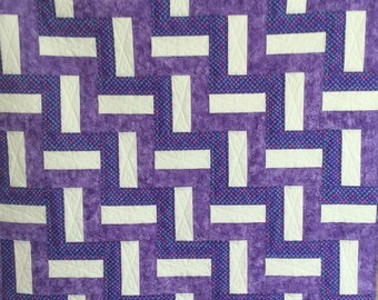 Handmade baby quilt.