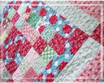 Miss Charm Lap and Baby Quilt PDF Pattern