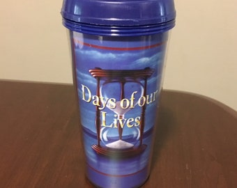 Days Of Our Lives  Soap Opera Drink Cup Soap Opera