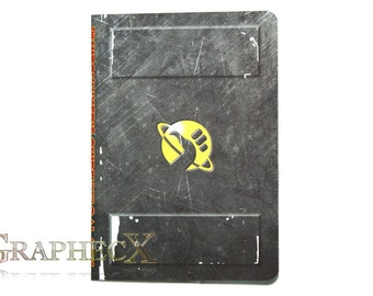 Fan-made the Hitchhiker's Guide to the Galaxy inspired personalized journal notebook