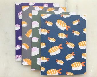 Sushi NoteCard Set- Sushi Card Set, Thank You Cards, Food Cards, Just Because Cards