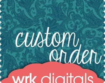 Custom Order for ktesta1