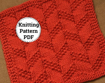 KNITTING PATTERN | Dishcloth Pattern | Playing with Rope