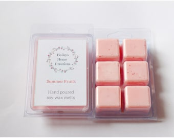 Summer Fruits Clamshell Wax Melts