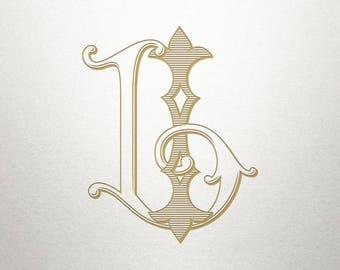 Wedding Monogram Design - IL LI - Wedding Monogram - Interlocking