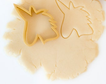 Unicorn Head Cookie Cutter- The Alison Show Design