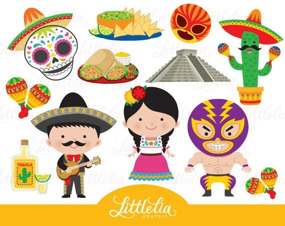 mexico clipart fiesta clipart 16029 rh etsy com mexican clipart mexican clipart