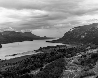 Back in Time; Columbia River Gorge National Scenic Area; Hood River, OR