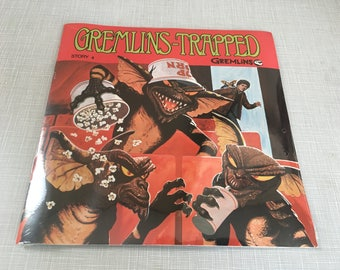 Vintage sealed 1980s Gremlins Record