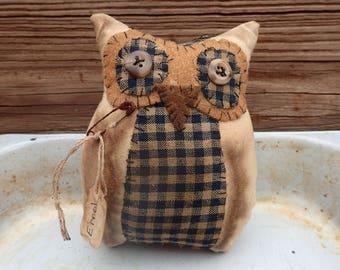 Primitive Owl Bowl Filler