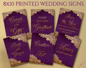 Awesome Gold And Purple Wedding Decor Photos - Styles & Ideas 2018 ...
